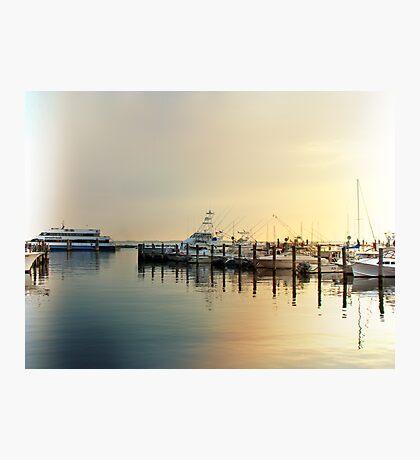 Sunrise In The Harbor - Atlantic Highlands - NJ Photographic Print