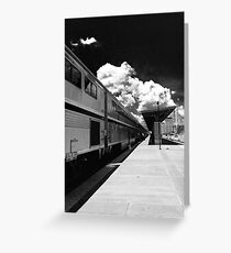 Amtrak Greeting Card