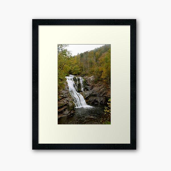 Bald River Falls TN Framed Art Print