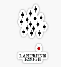 Lanterne Rouge Sticker