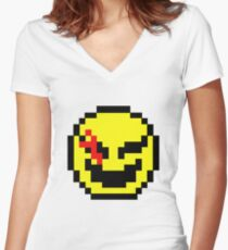 Who Watches the Key Watchers? Women's Fitted V-Neck T-Shirt