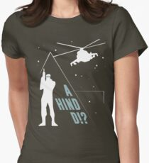 Metal Gear Solid - 'A Hind D!?' Mk.2 Women's Fitted T-Shirt