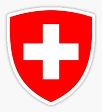 Switzerland UNTOUCHED | Europe Heraldry | SteezeFactory.com Sticker