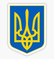 Ukraine UNTOUCHED | Europe Heraldry | SteezeFactory.com Sticker