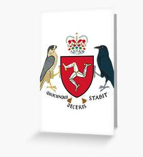 Isle of Man | Europe Stickers | SteezeFactory.com Greeting Card