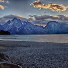 Colter Bay Sunset by Robert H Carney
