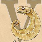 V is for VIPER by busymockingbird