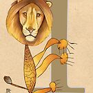L is for LION by busymockingbird