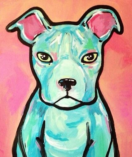 Pittbull Pop Pup by Stolensouljess