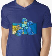 Blue-Buster Men's V-Neck T-Shirt
