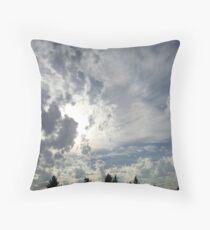 Cloudscape Throw Pillow