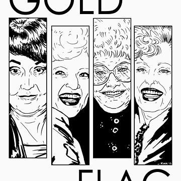 GOLD FLAG by nikolking