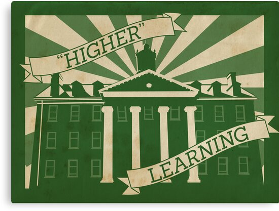 """""""Higher"""" Learning by Whiterend Creative"""