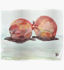 pomegranate pair Poster