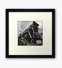 Locomotive in Jasper National Park Framed Print