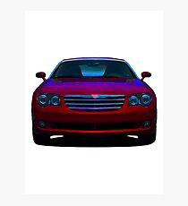 2008 Chrysler Crossfire sports car Photographic Print