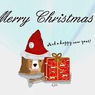 Puppy Christmas  by Prettyinpinks
