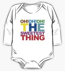 The sweetest thing  One Piece - Long Sleeve
