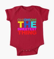 The sweetest thing  One Piece - Short Sleeve