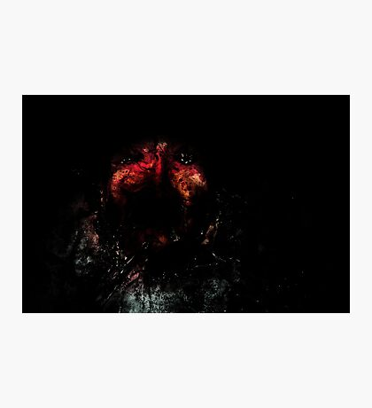 From the darkness it devours Photographic Print