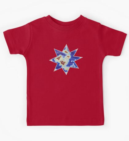 Star world map Kids Clothes