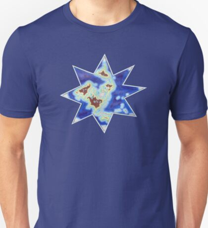 Star world map T-Shirt