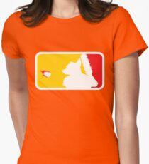 Major League Whack-Bat Womens Fitted T-Shirt