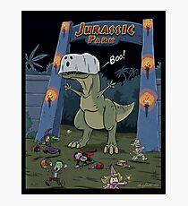 Jurassic Park Halloween Photographic Print