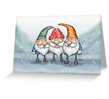 Devo Gnomes Greeting Card