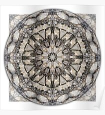 Quartzite Mandala 1 Poster