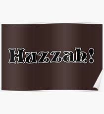 Huzzah! Poster