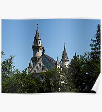 Fairy-Tale Castle Poster