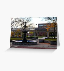 54th Regiment Mass. Voluntary Infantry Plaza Greeting Card