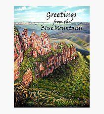 BLUE MOUNTAINS, Australia Photographic Print