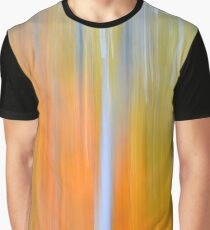 Autumn Abstract Graphic T-Shirt