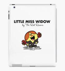 Little Miss Widow iPad Case/Skin