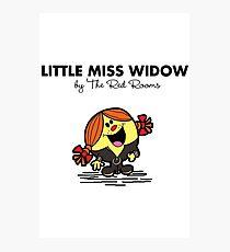 Little Miss Widow Photographic Print
