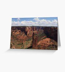 Spider Rock, AZ Greeting Card