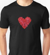 Rose Heart Unisex T-Shirt