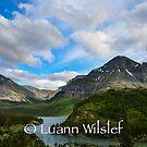 Many Glacier by Luann wilslef
