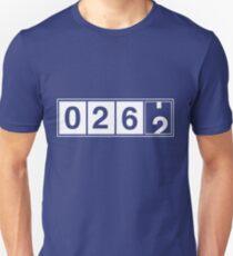 26.2 Odometer Unisex T-Shirt