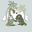 DiNERDsaur Love by JessieSima