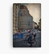 Word Cycling Championship ~ Firenze 2013 Canvas Print