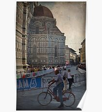 Word Cycling Championship ~ Firenze 2013 Poster