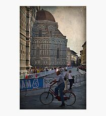 Word Cycling Championship ~ Firenze 2013 Photographic Print