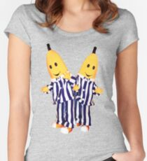 Bananas in Pajamas - B1 and B2 Women's Fitted Scoop T-Shirt