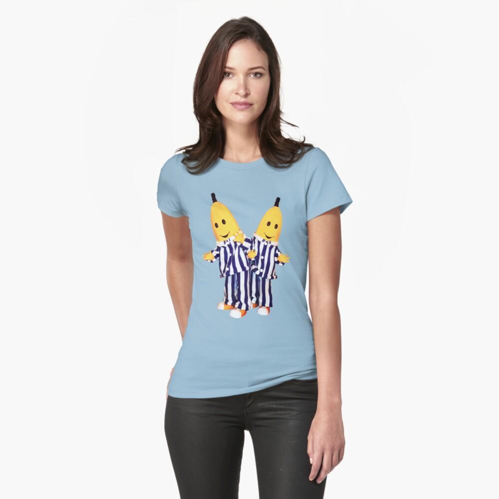 Ladies Bananas in Pyjamas T-shirt