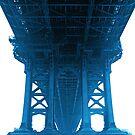 Under Manhattan Bridge by Mark scott
