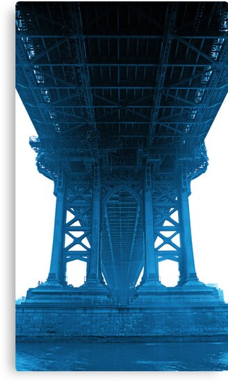 Under Manhattan Bridge by Mark Walker