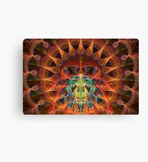 The Heart of Julian Rings Canvas Print